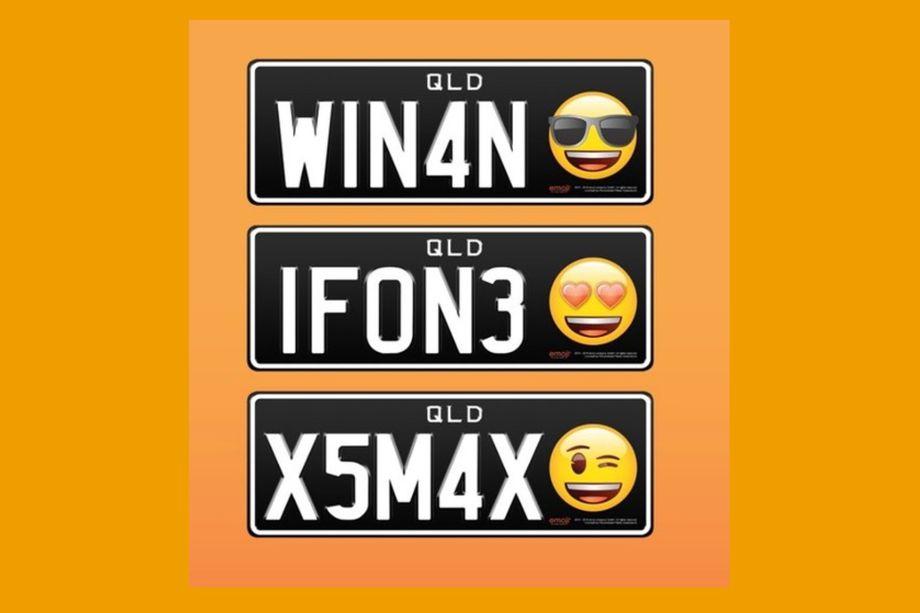 emoji plaque voiture Quand les émojis sinvitent sur les plaques dimmatriculation