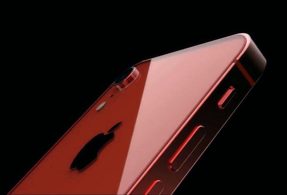 iPhone SE 2 ConceptsiPhone 1000x679 Concept iPhone SE 2 : dos en verre, pas de bouton Home et une petite encoche