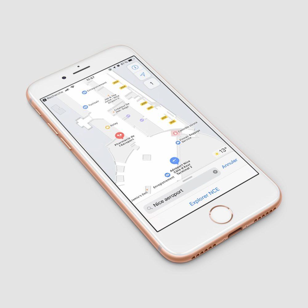 plans carte interieure Plans sétoffe sur iOS et propose des cartes intérieures en France