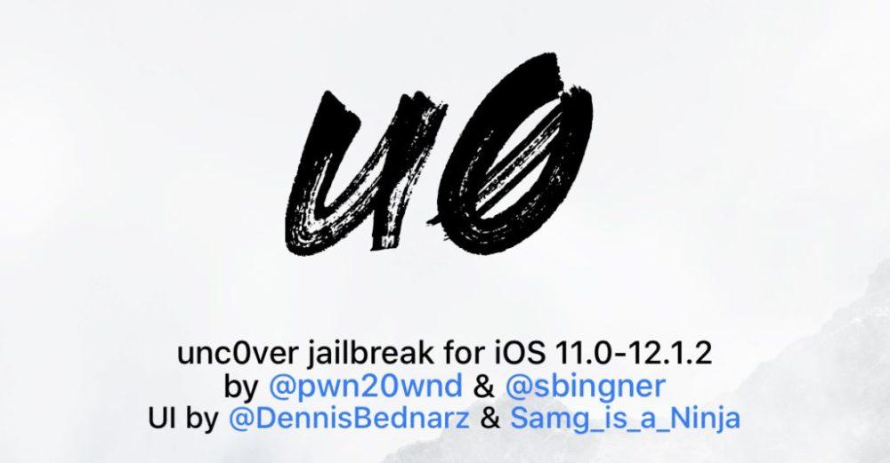 unc0ver ios12 Tutoriel Jailbreak iOS 12   12.1.2 avec Unc0ver
