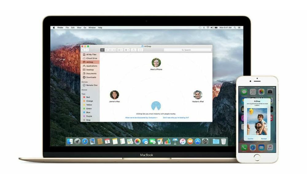 AirDrop Comment utiliser AirDrop sur un iPhone ou un Mac