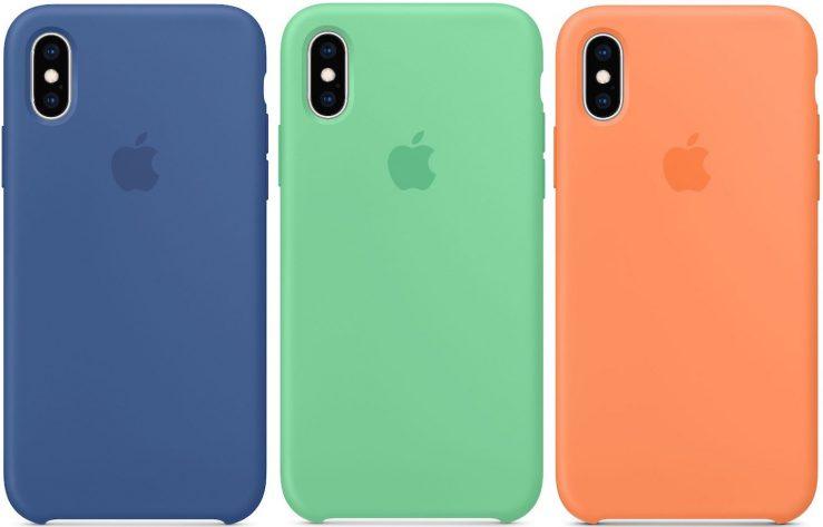 Coque iPhone XS Silicone Printemps 2019 Les bracelets Apple Watch pour le printemps 2019 sont disponibles à lachat + coques iPhone