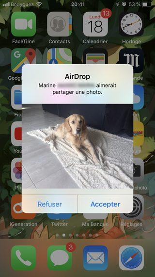 airdrop demande iphone Comment utiliser AirDrop sur un iPhone ou un Mac