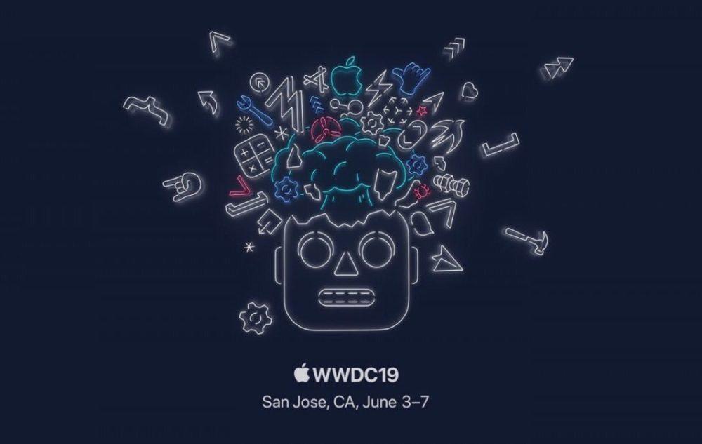apple wwdc 2019 1000x633 Apple annonce la date et le lieu de la WWDC 2019 : du 3 au 7 juin au McEnery Convention Center