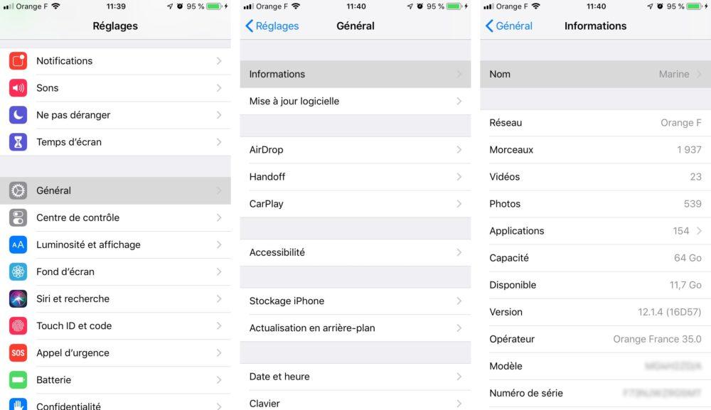 changer nom iphone Comment activer le partage de connexion sur votre iPhone ou iPad