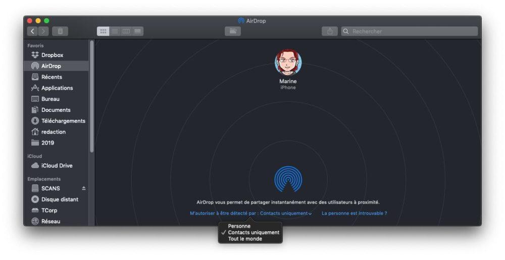 configurer airdrop mac Comment utiliser AirDrop sur un iPhone ou un Mac