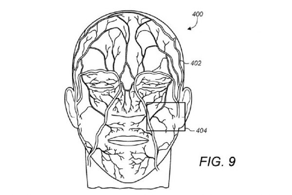 face ID detection veines du visage Face ID pourrait utiliser une technologie pour localiser les veines afin de différencier les jumeaux
