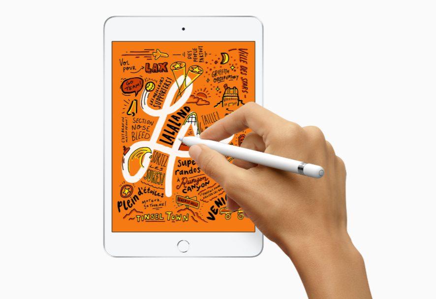 iPad mini 5 Apple dévoile un iPad Air 10,5 pouces et un iPad mini 5 : A12 Bionic, Apple Pencil, prix et disponibilité
