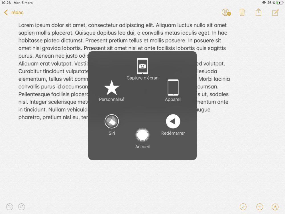 ipad assistivetouch 1000x750 10 trucs et astuces à savoir lorsque lon possède un iPad