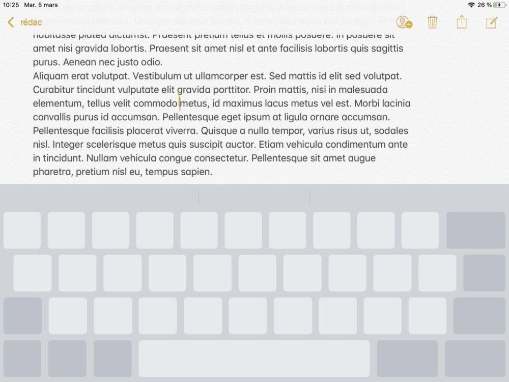 ipad clavier trackpad 1000x750 10 trucs et astuces à savoir lorsque lon possède un iPad