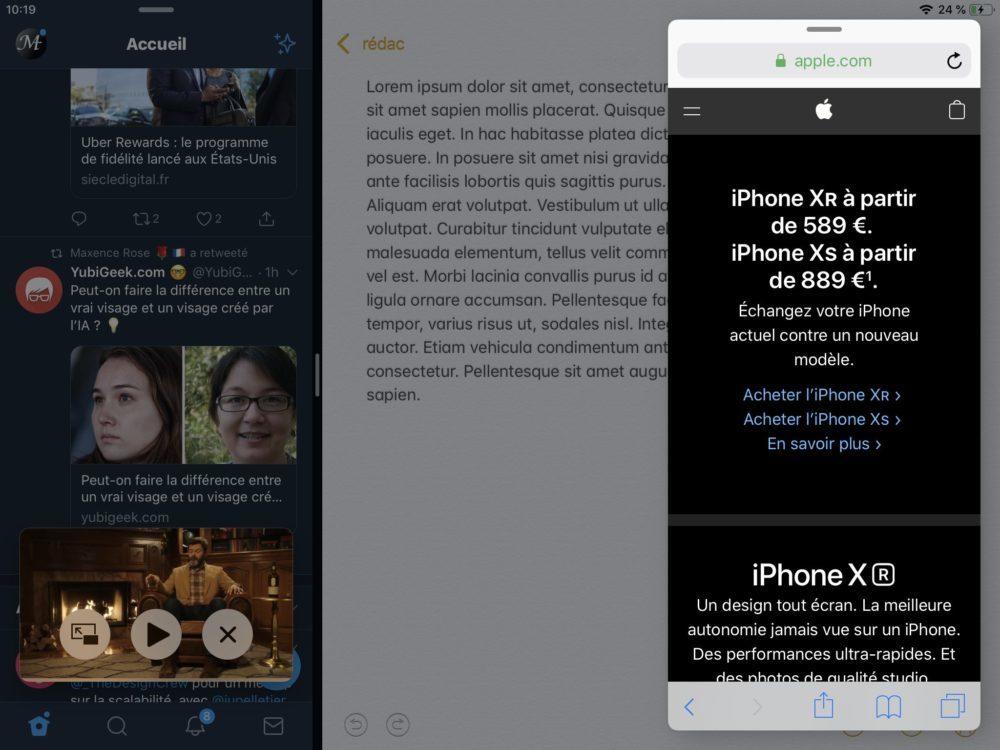 ipad multitache 1000x750 10 trucs et astuces à savoir lorsque lon possède un iPad