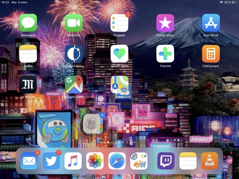 ipad pile app 1000x750 10 trucs et astuces à savoir lorsque lon possède un iPad