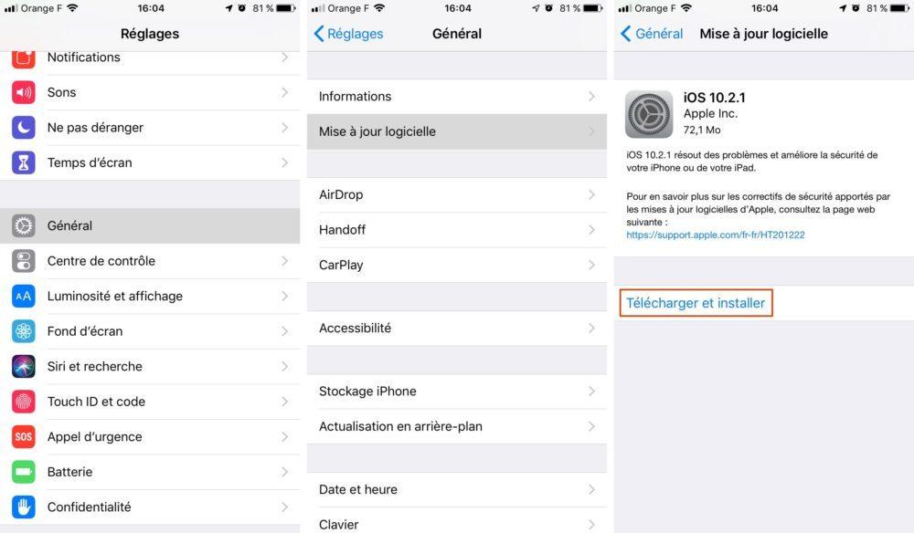 maj iphone 1000x584 [GUIDE COMPLET] Comment effectuer la mise à jour iPhone et iOS