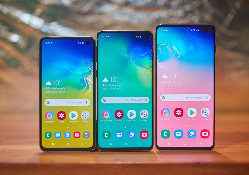 samsung galaxy s10 1000x702 Les différences du Galaxy S10 avec liPhone feraient augmenter ses ventes