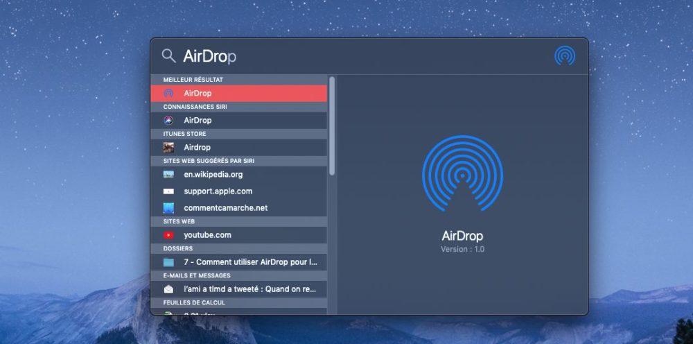 spotlight airdrop mac Comment utiliser AirDrop sur un iPhone ou un Mac
