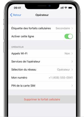 supprimer esim iphone e1552930655977 Comment utiliser une double SIM avec une eSIM sur iPhone