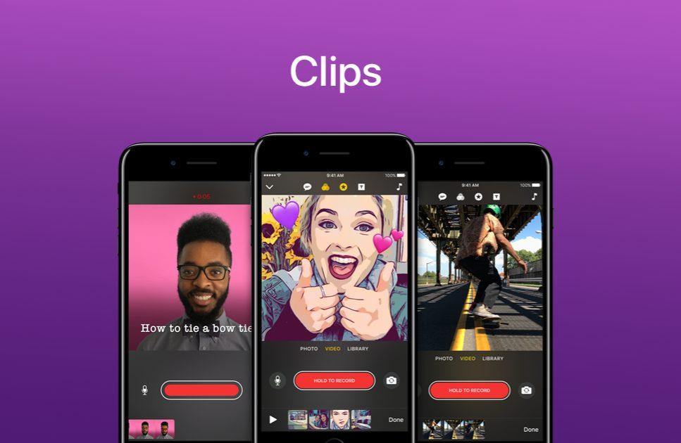 Clips Apple Apple met à jour Clips : filtre rétro, titres live, nouveaux autocollants et plus encore