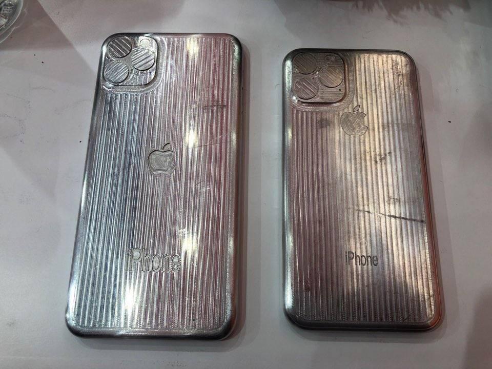 Moules iPhone 2019 2 iPhone de 2019 : des moules nous dévoilent leur design