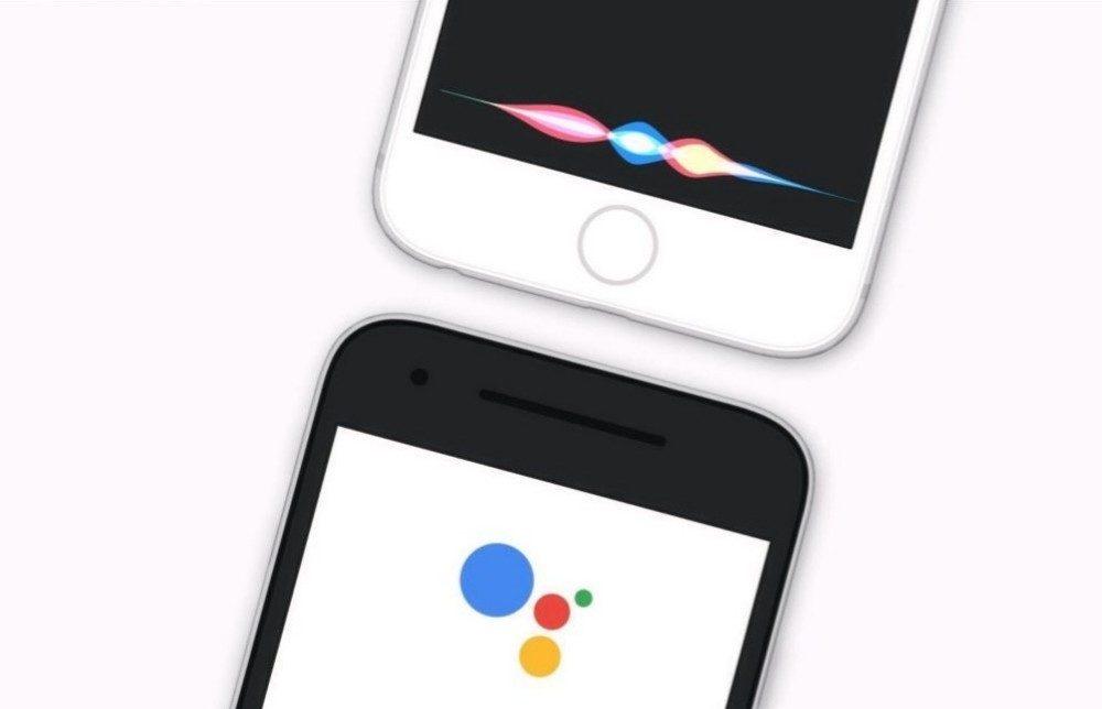 Siri Google Assistant Vocaux 1000x644 Siri et Google Assistant dominent le marché des assistants vocaux