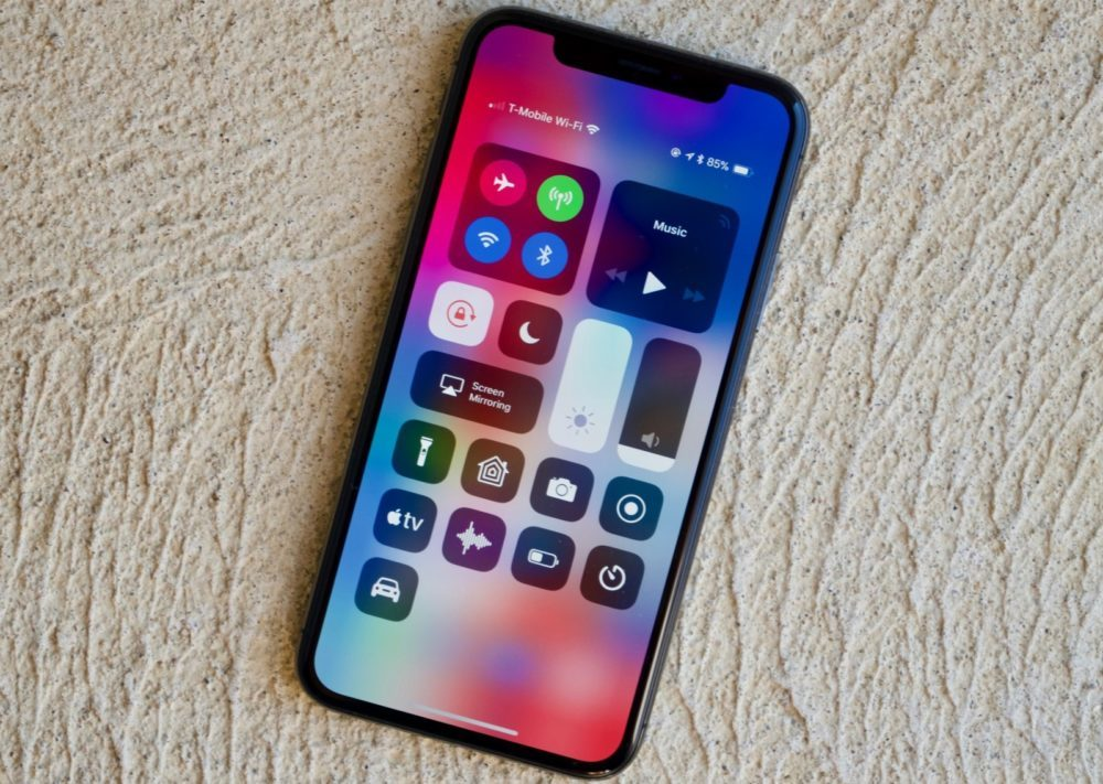 centre de controle ios 12 iphone x 1000x711 iOS 12.3 bêta 3 est disponible pour iPhone, iPad et iPod touch