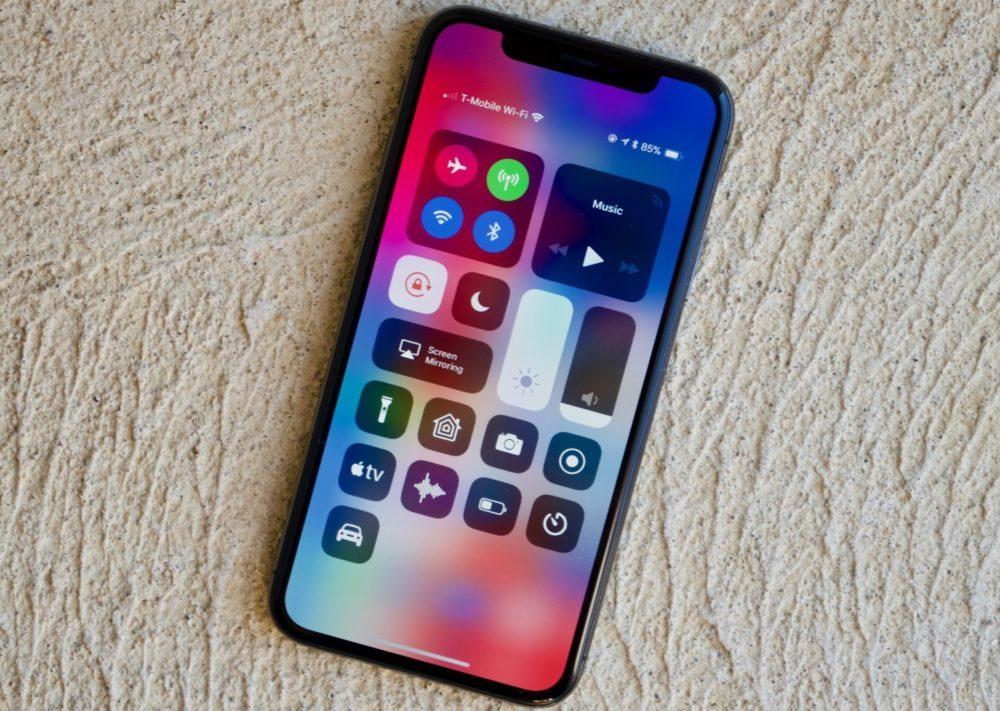 centre de controle ios 12 iphone x 1000x711 iOS 12.4 bêta 2 est disponible pour iPhone, iPad et iPod touch