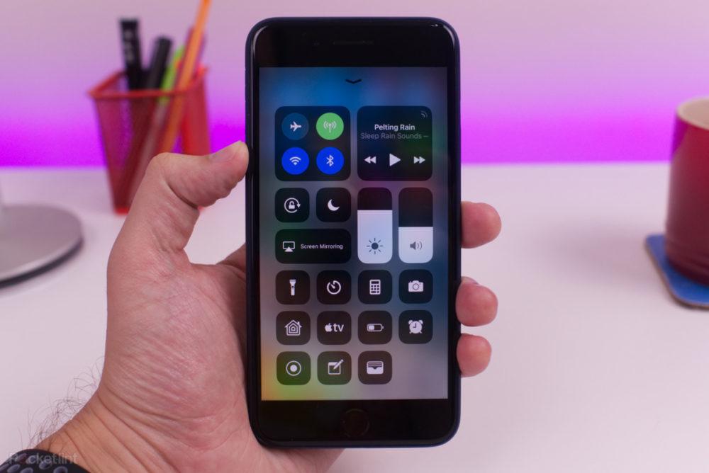 centre de controle ios 12 iphone Les nouveautés majeures apportées par iOS 12