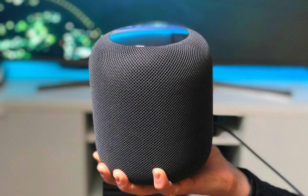 homepod noir apple 1000x635 Le HomePod occupe que 5% des 76 millions denceintes connectées aux États Unis au Q2 2019