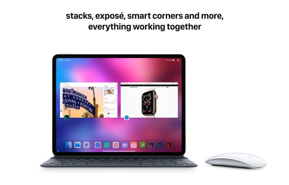 iOS 13 Concept Souris iPad 5 1000x641 Un concept iOS 13 imagine un multitâche amélioré, le support dune souris sur iPad et plus