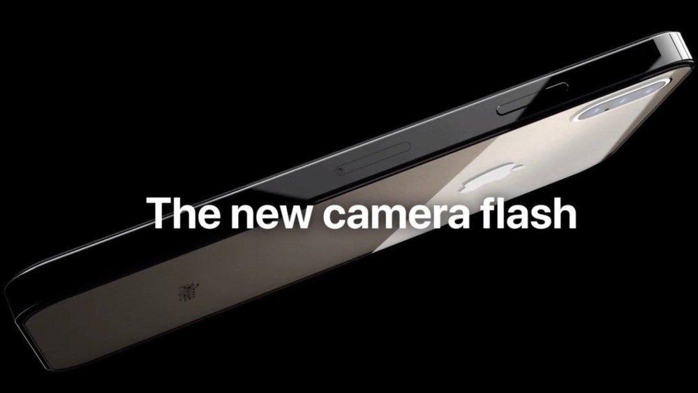Un concept montre un iPhone avec 3 capteurs photo, USB C, design de l'iPad Pro