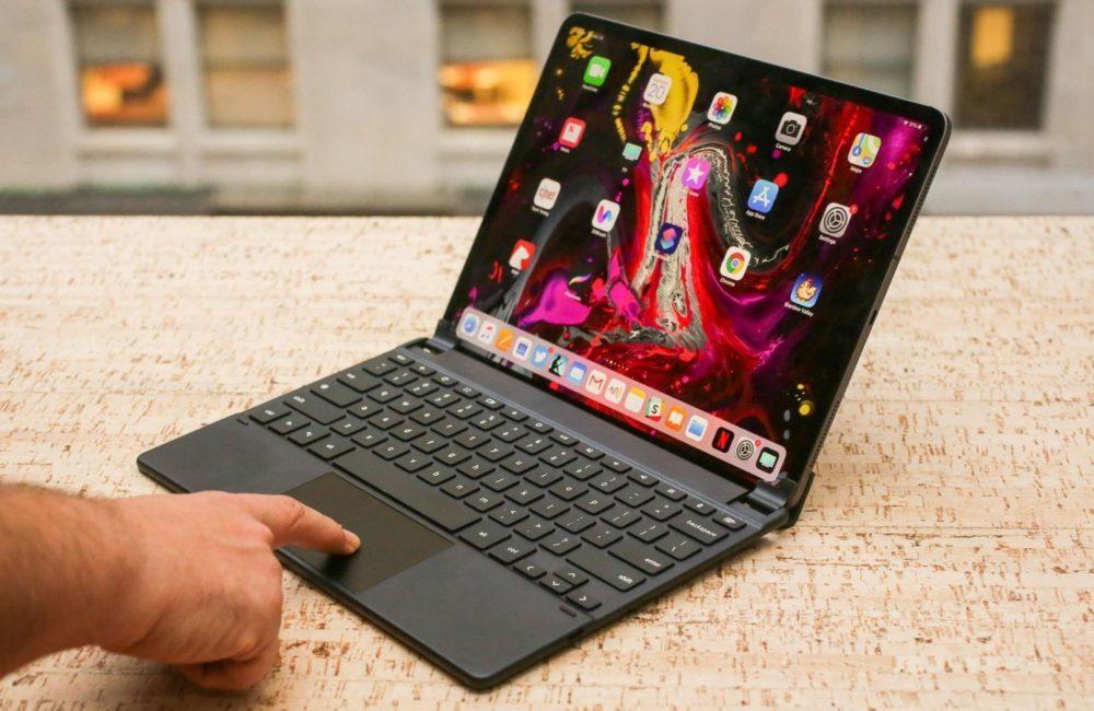 ipad pro clavier 1000x650 Apple pourrait ajouter le support de la souris sur iPad