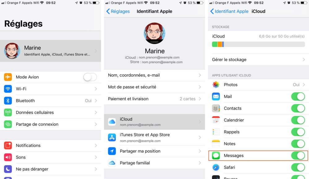 messages icloud iphone Comment envoyer et recevoir des SMS et Messages sur Mac