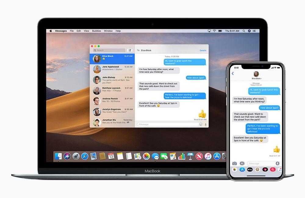 messages mac ios iphone Comment envoyer et recevoir des SMS et Messages sur Mac