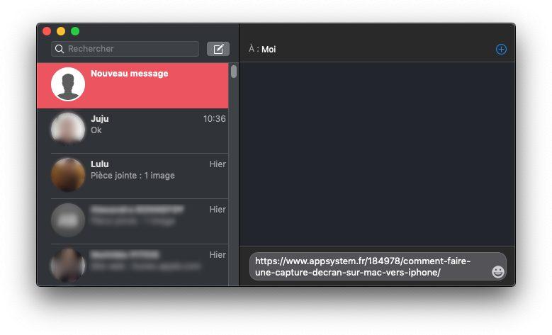 messages mac Copier coller Mac iPhone : le guide complet de Handoff / Continuité