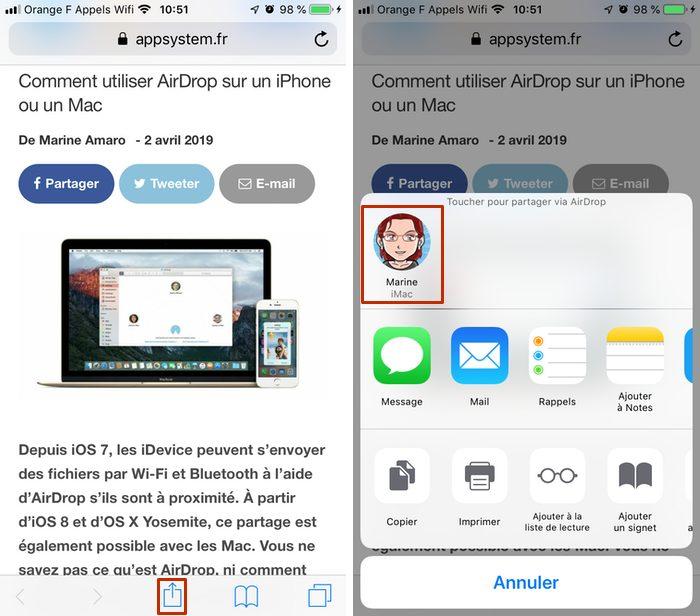 partager lien airdrop iphone Copier coller Mac iPhone : le guide complet de Handoff / Continuité