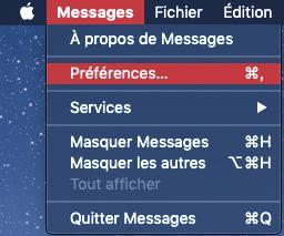 preferences messages mac Comment envoyer et recevoir des SMS et Messages sur Mac
