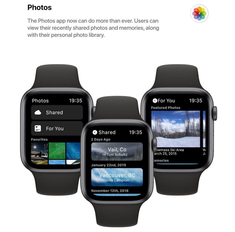 watchOS 6 Concept App Photos 1000x988 watchOS 6 : un concept invente de nouveaux cadrans, des anneaux dactivité revus et plus