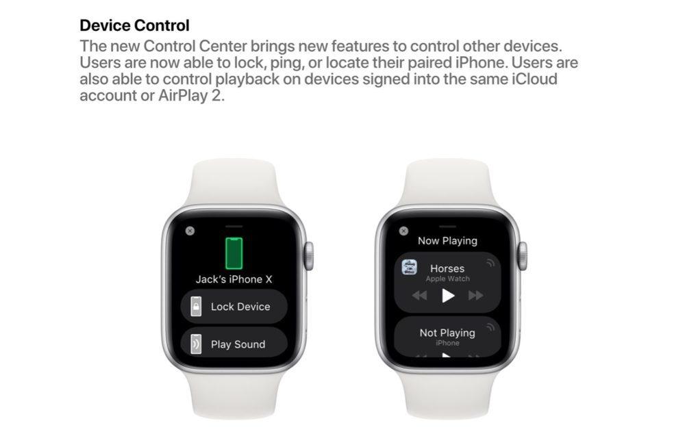 watchOS 6 Concept Control Appareils 1000x634 watchOS 6 : un concept invente de nouveaux cadrans, des anneaux dactivité revus et plus