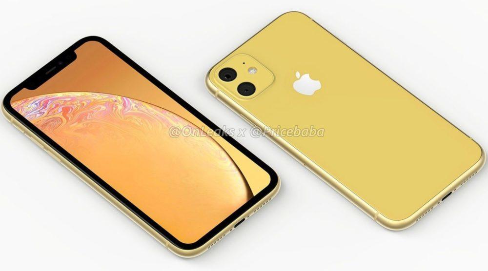 2019 iPhone XR 1000x556 LiPhone XR 2019 aurait un module photo carré avec deux capteurs au dos