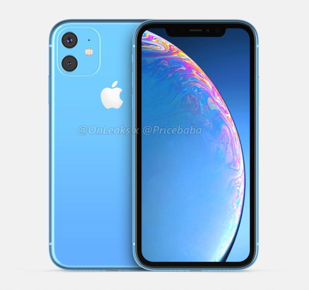 2019 iPhone XR 2 1000x938 LiPhone XR 2019 aurait un module photo carré avec deux capteurs au dos