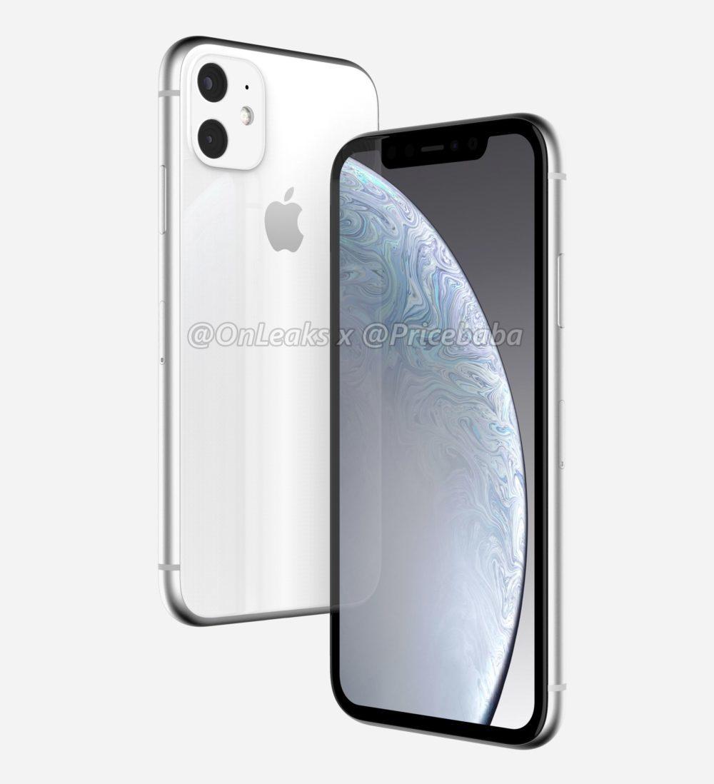 2019 iPhone XR 3 1000x1098 LiPhone XR 2019 aurait un module photo carré avec deux capteurs au dos