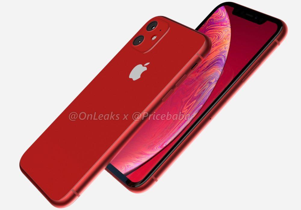 2019 iPhone XR 4 1000x699 LiPhone XR 2019 aurait un module photo carré avec deux capteurs au dos