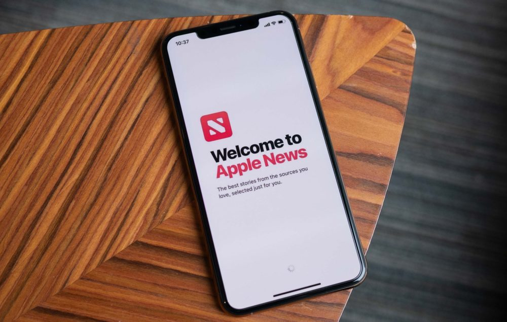 Apple News iPhone 1000x635 Apple News : le widget est temporairement en panne sur iOS
