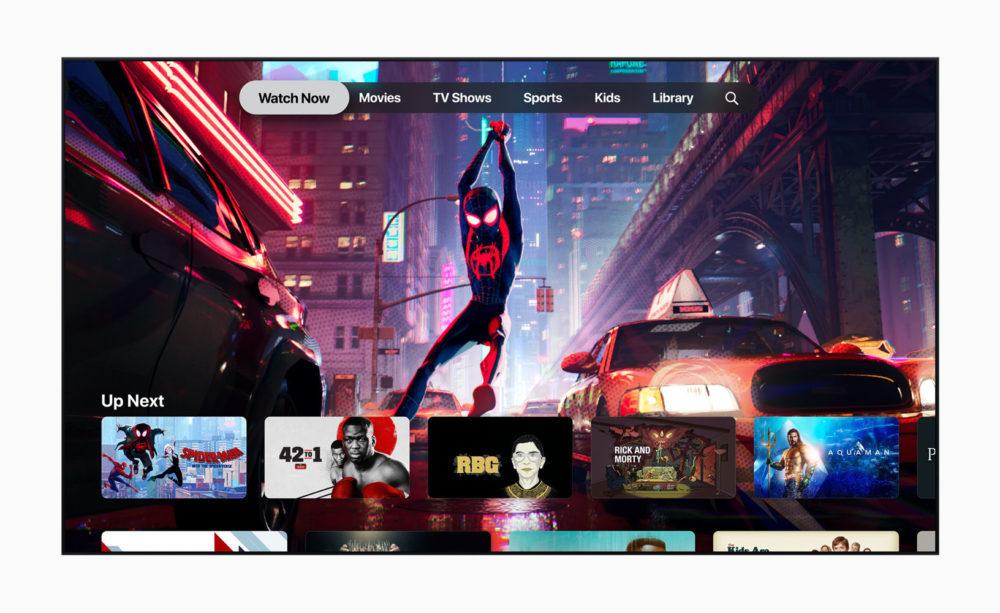 Apple TV App TV Plus 1000x613 tvOS 12.3 version finale est disponible au téléchargement