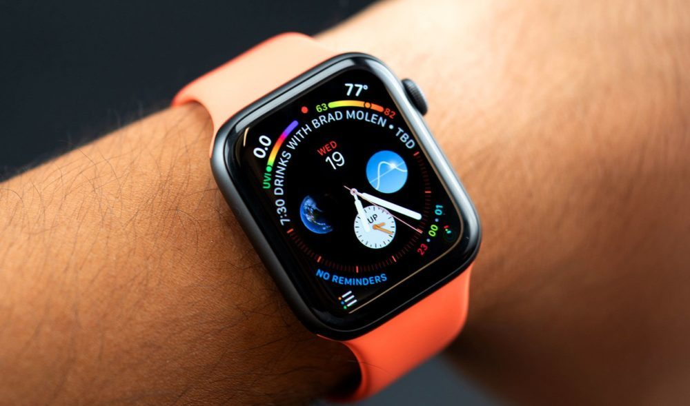Lécran OLED de lApple Watch Series 4 est couronné « écran de lannée »
