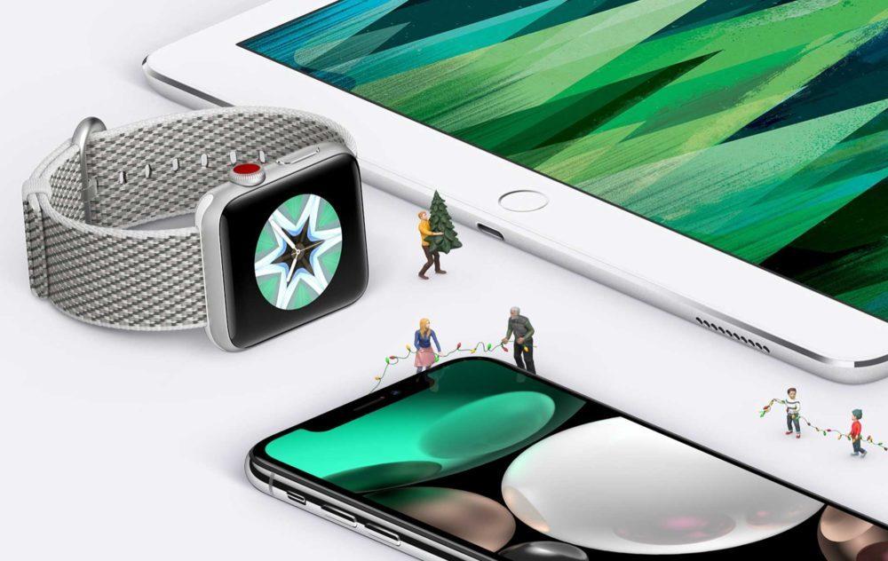Apple iPad Pro Apple Watch iPhone X 1000x632 Voici les résultats financiers dApple pour le Q2 2019 : baisse pour liPhone et le Mac