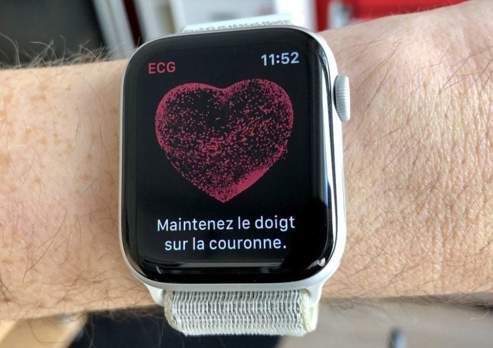 ECG App Apple Watch 1000x705 Apple Watch : la disponibilité de lélectrocardiogramme (ECG) au Canada confirmée par Apple