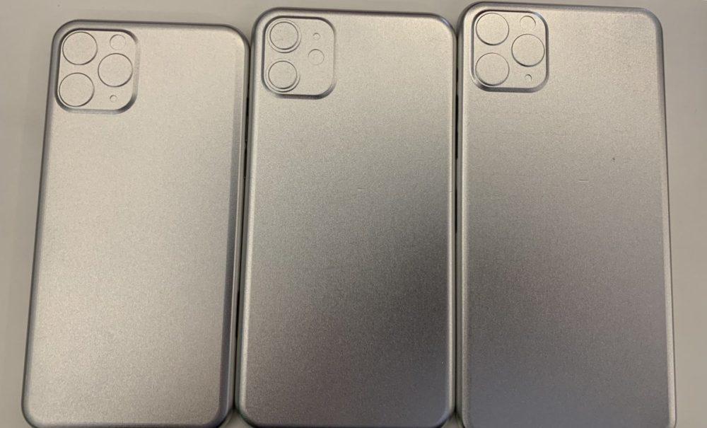 Moules iPhone de 2019 1000x605 iPhone de 2019 : des moules fuitent et montrent encore une fois les appareils photo