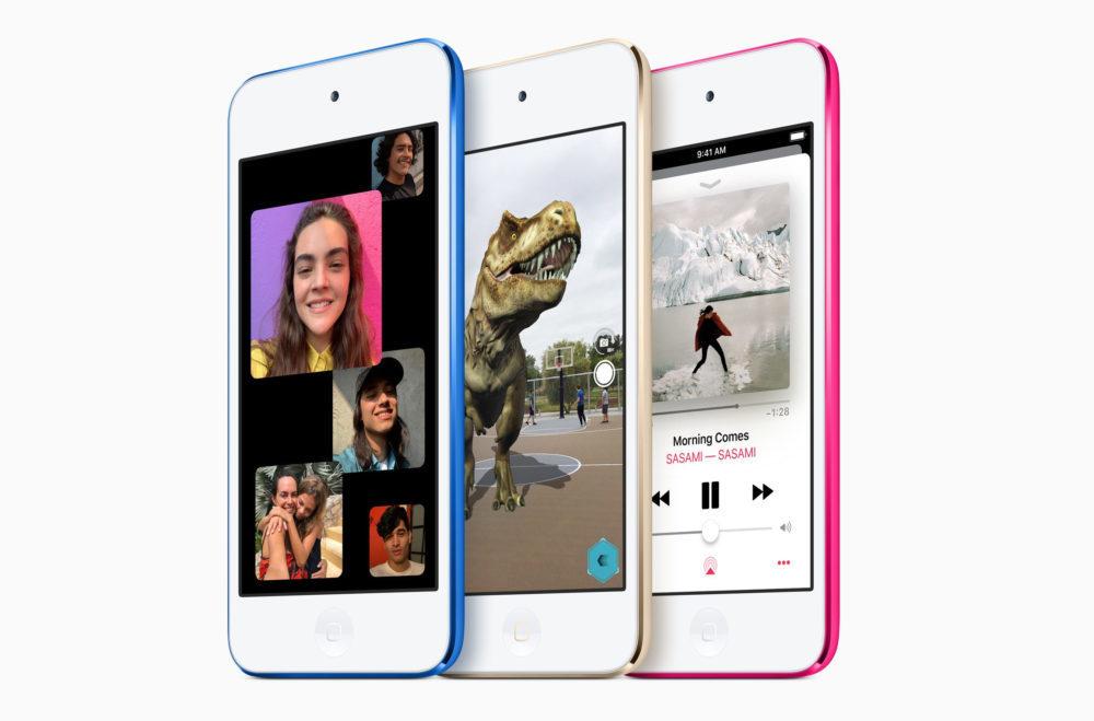Nouvel iPod Touch 2019 1000x659 Le nouvel iPod touch affiche désormais le pourcentage de la batterie