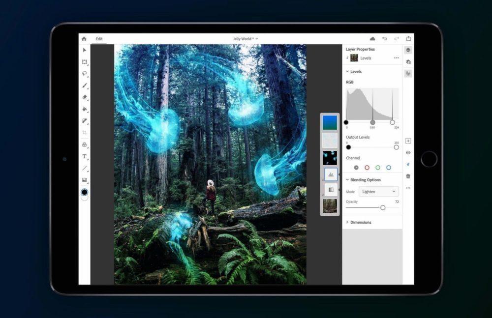 Photoshop Sur iPad 1000x647 Photoshop sur iPad : la première bêta serait disponible le 9 mai