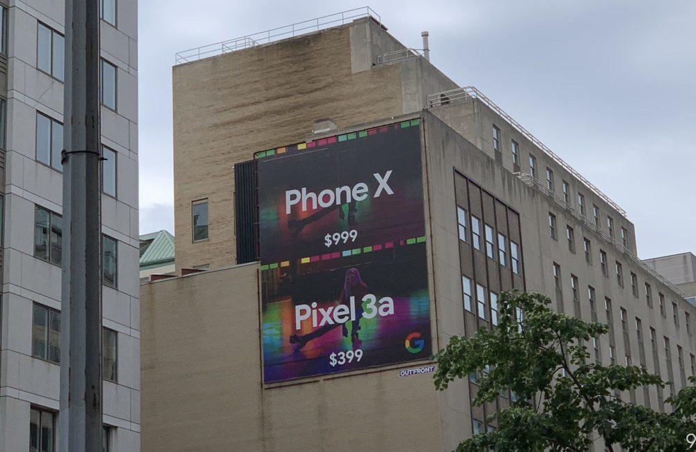 Pixel 3a vs iPhone Publicite 1000x650 Google, avec son Pixel 3a, taquine le prix et lappareil photo de liPhone XS
